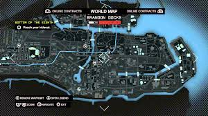 World Map Watch Watch Dogs World Map Legend Early In Game Online Contacts