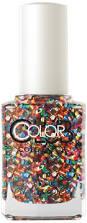amazon com color club nailmoji holographic emoji glitter nail