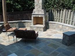 stone fireplace u0026 flagstone patio arlington copy grigg design