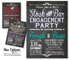 stock the bar shower stock the bar engagement party invitations futureclim info