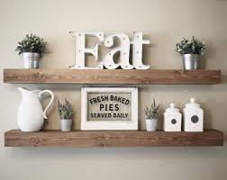 How To Decorate Floating Shelves Shelving Etsy