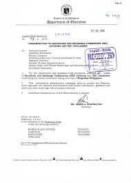 Emgoldex Philippines Is Not A Registered Corporation Deped