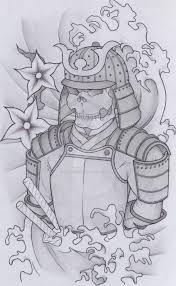 skull samurai design by therootofallevil1 on deviantart