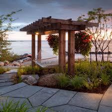 the landmark group beach style patio toronto by mcneill