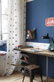 Blue Desk Accessories Desk Accessories Industrial With Bins Blue Wall Boys