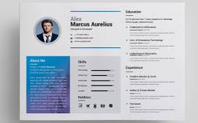 resume template website 50 eye catching cv templates for ms word free to