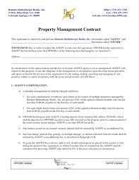 managed service contract template with sample proposal letter for