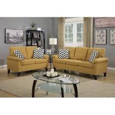 microfiber living room sets you u0027ll love wayfair