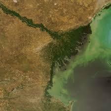 Volga River Map Earth Snapshot U2022 Volga River