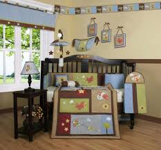 Jungle Themed Nursery Bedding Sets by Crib Bedding Sets Applique Jungle Animal Crib Bedding Cotton