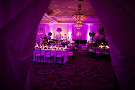 Centerpieces For Quinceaneras Sophisticated Black White And Purple Quinceanera The