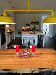 Pendant Lighting With Matching Chandelier Industrial Pendant Lighting Pops In New Texas Home Blog