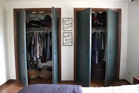 Doors Closet Bi Fold To Faux Shiplap Closet Doors Bright Green Door
