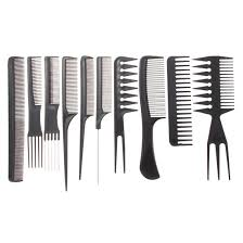 professional salon hair styling hairdressing plastic combs set