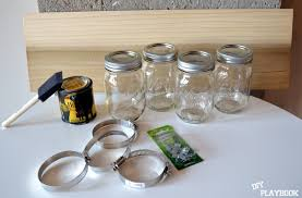 How To Use Mason Jars For Decorating How To Create A Mason Jar Organizer For Your Bathroom Space