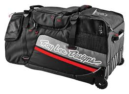 troy lee motocross helmets troy lee premium wheeled gear bag revzilla