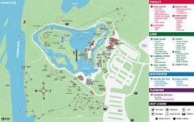 Water Country Map U S National Whitewater Center Charlotte Nc Facility And