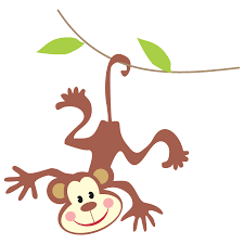 forest clipart monkey jungle pencil and in color forest clipart
