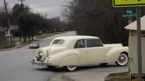 1941 lincoln continental v12 youtube