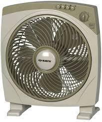 electric fan box type elekta tropical climate box fan 12 with 6 blades ebx 116mkii fans