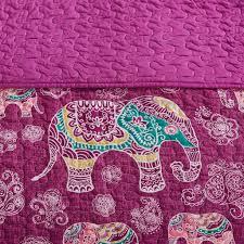 Elephant Twin Bedding Fuchsia Purple Elephant Bedding For Girls Twin Xl Full Queen