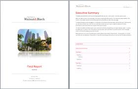 field report template field survey report template printable templates