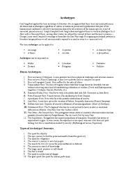 archetypal themes list archetypes to help with literary analysis hero quest