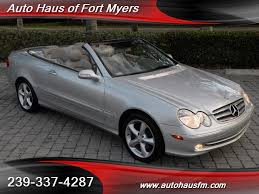 mercedes ft myers fl 2005 mercedes clk320 convertible fort myers florida for sale