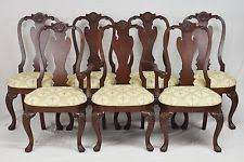 Ethan Allen Queen Anne Dining Chairs Ethan Allen Mahogany Furniture Ebay