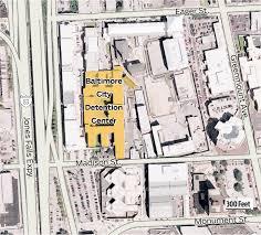 Baltimore City Map Hogan Announces Closing Of Baltimore Detention Center Baltimore Sun