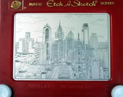 artist etch a sketches new york city from central park to the