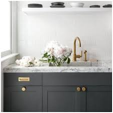 gray kitchen cabinets with white marble countertops 6 gray shades for a kitchen that are surprising big chill