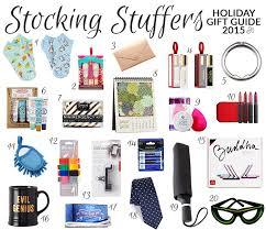 gift guide 2015 stuffers pretty neat living