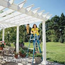 How To Build A Pergola Roof by How To Build A Pergola Pergola Plans U2014 The Family Handyman