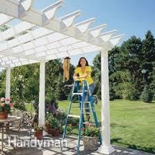 Roof Trellis How To Build A Pergola Pergola Plans U2014 The Family Handyman