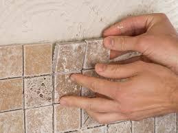 how to apply backsplash in kitchen how to install a kitchen tile backsplash hgtv