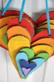 best 25 heart art ideas on pinterest hanging hearts paper