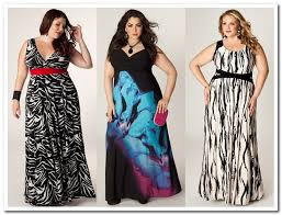 maxi dress for your body type curvy pear busty