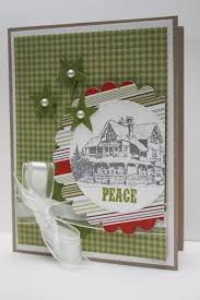 25 best stampin u0027 up christmas lodge images on pinterest