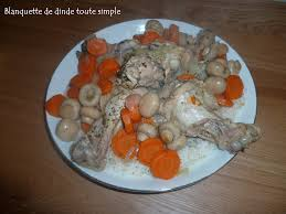 plat a cuisiner simple blanquette de dinde toute simple mummy cooks