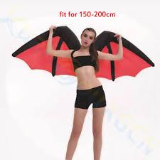 Red Wings Halloween Costume Halloween Kids Cosplay Rainbow Wings Inflatable Costume