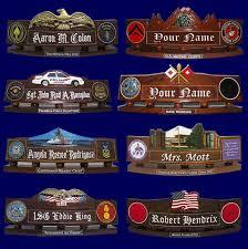Cheap Desk Name Plates Name Platecoin Display Bmolloy Lumberjocks Military Desk Plates