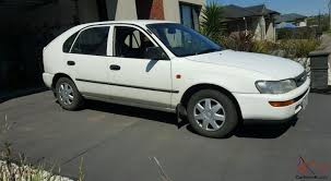 corolla csi seca 1999 5d liftback manual 1 6l no reserve in vic