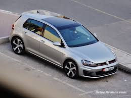 volkswagen golf gti 2014 so we got a 2014 volkswagen golf gti drive arabia