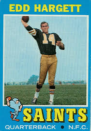 1971 football cards new orleans saints