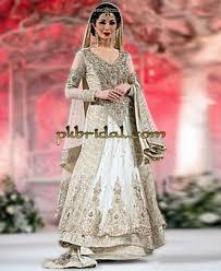simple white wedding dress pakistani wedding dressess party