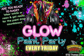 glow paint party glo paint party party city hours
