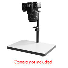 camera copy stand with lights cs 320 small copy stand animation rostrum 32 cm max height