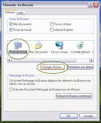 changer l image du bureau changer les icônes de bureau dans windows xp