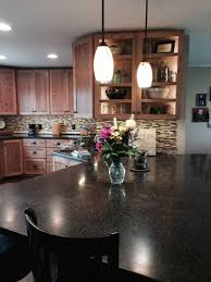 kitchen island different color than cabinets interior design